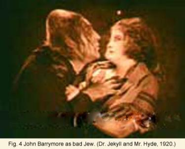 John Barrymore as bad Jew
