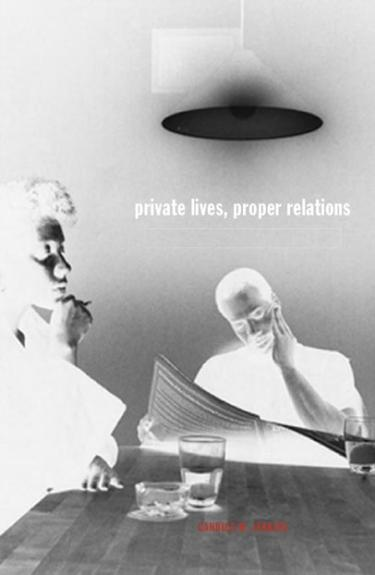 Private Lives, Proper Relations Cover