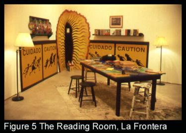The Reading Room, La Frontera