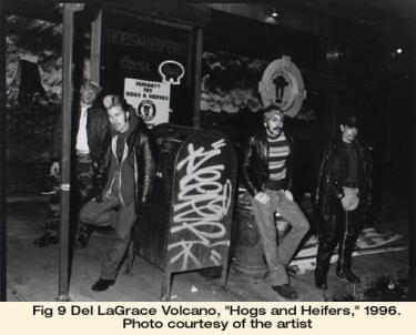"Del LaGrace Volcano, ""Hogs and Heifers,"" 1996. Photo courtesy of the artist"