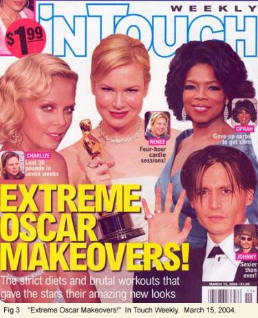 """Extreme Makeover Oscars"" Magazine cover"