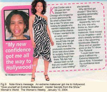 """""""My new confidence got me all the way to Hollywood"""" magazine cover"""