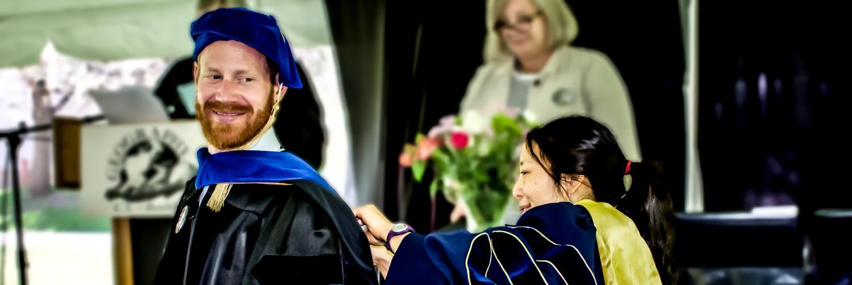 Grad student getting phd