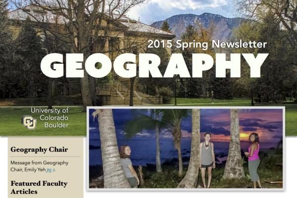 2015 Spring newsletter cover