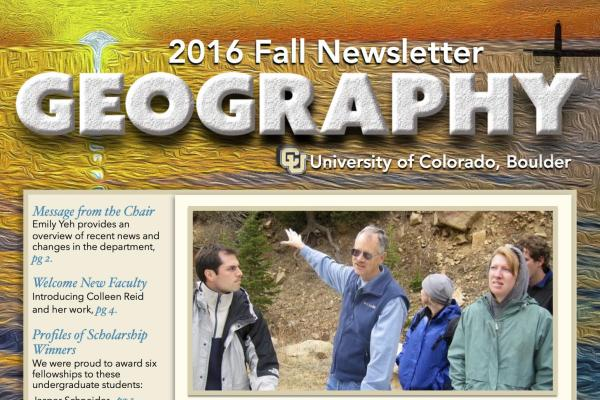 2016 Fall Newsletter cover