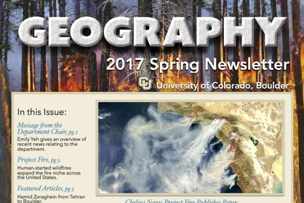 2017 Spring Newsletter cover