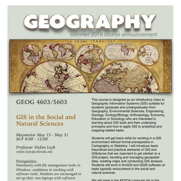 GEOG 4603/5603 Poster