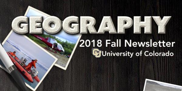 2018 Fall Newsletter Cover