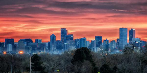 Denver CO skyline