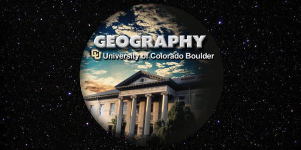 Geography University Of Colorado Boulder University Of