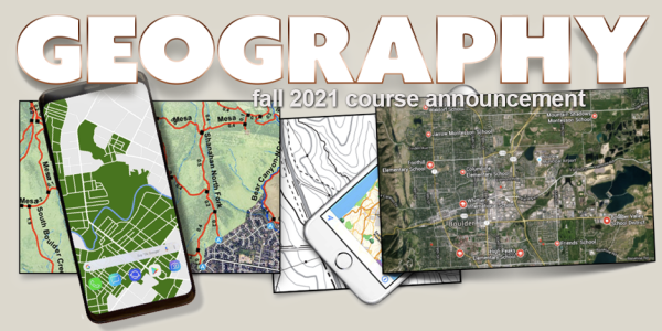 GEOG 2053 Course Announcement for Fall 2021