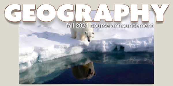 GEOG 2271 Course Announcement for Fall 2021