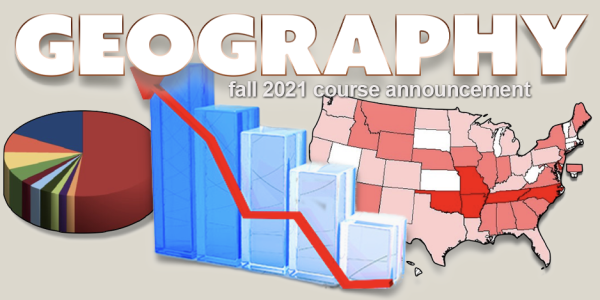 GEOG 3023 Course Announcement for Fall 2021