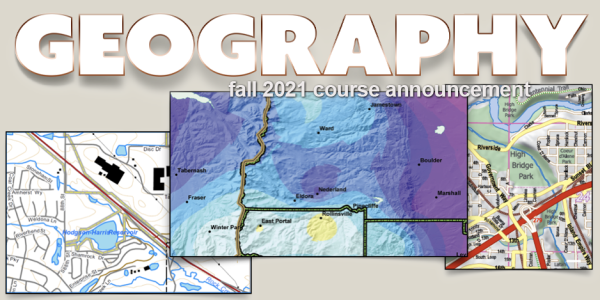 GEOG 3053 Course Announcement for Fall 2021