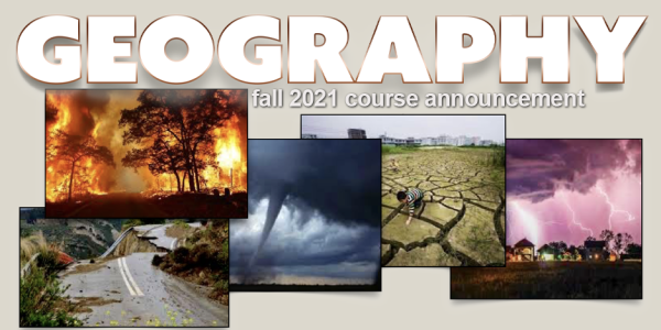GEOG 3402 Course Announcement for Fall 2021