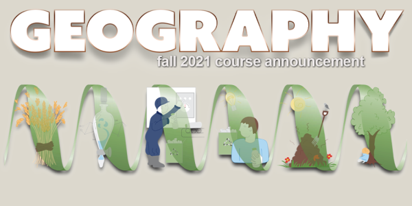 GEOG 3412 Course Announcement for Fall 2021