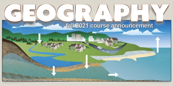 GEOG 3511 Course Announcement for Fall 2021