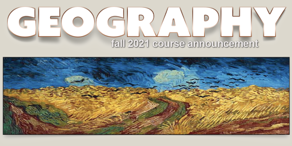 GEOG 3742 Course Announcement for Fall 2021