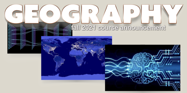 GEOG 4003/5100 Course Announcement for Fall 2021