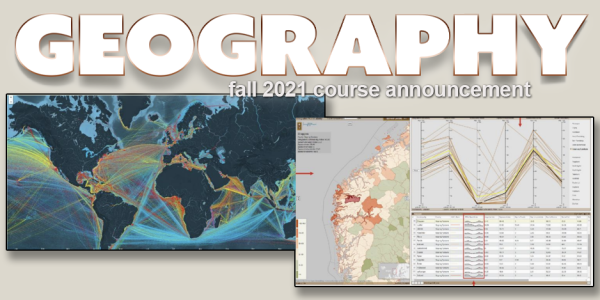 GEOG 4043/5043 Course Announcement for Fall 2021