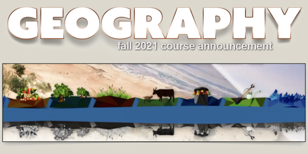 GEOG 4772 Course Announcement for Fall 2021