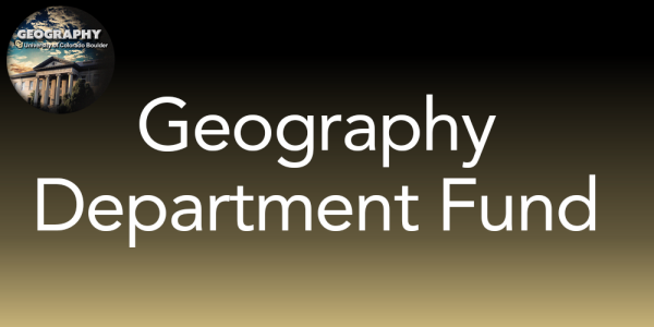Geography Department Fund