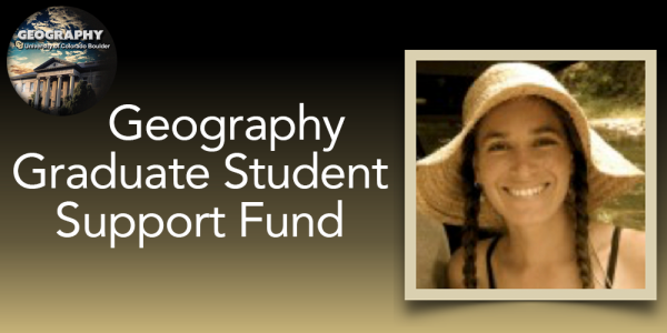 Geography Graduate Student Support Fund