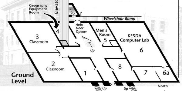 Ground Floor/Basement Map