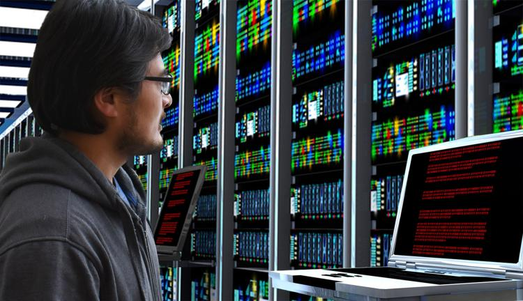 Guofeng Cao in datacenter