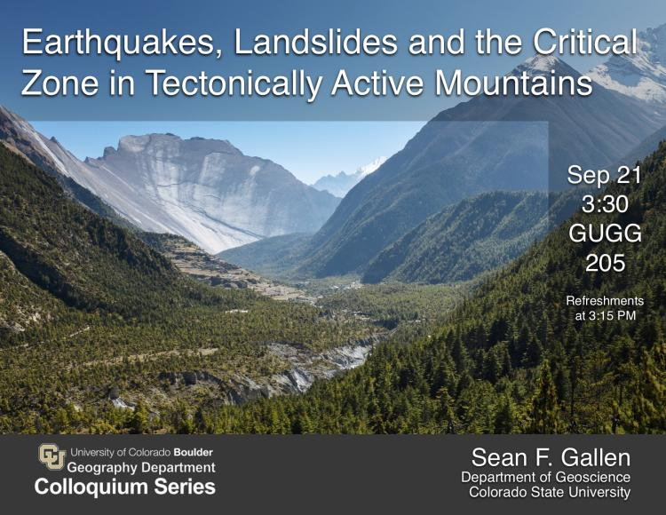 Noon seminar - Neogene tectonic events in the West Antarctic rift: Implications for landscape