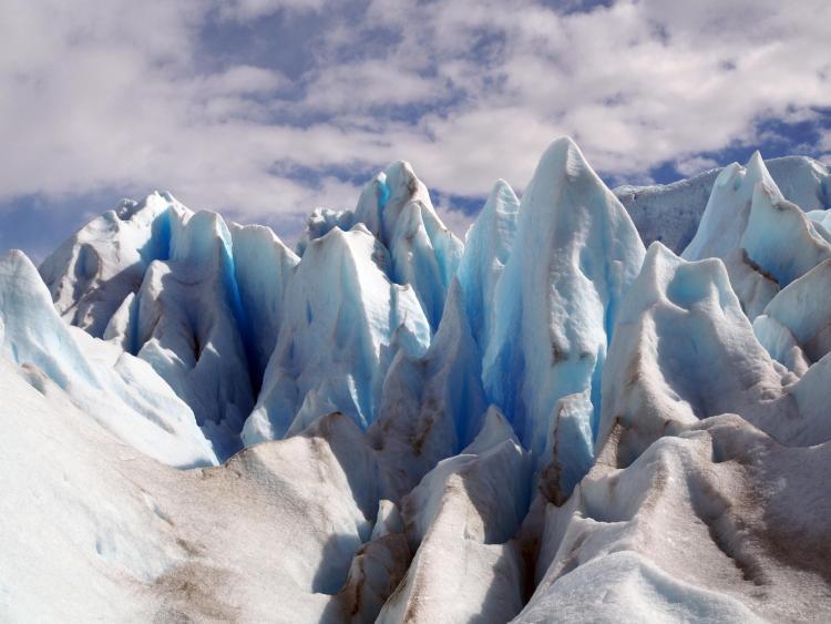 Arctic ice and snow