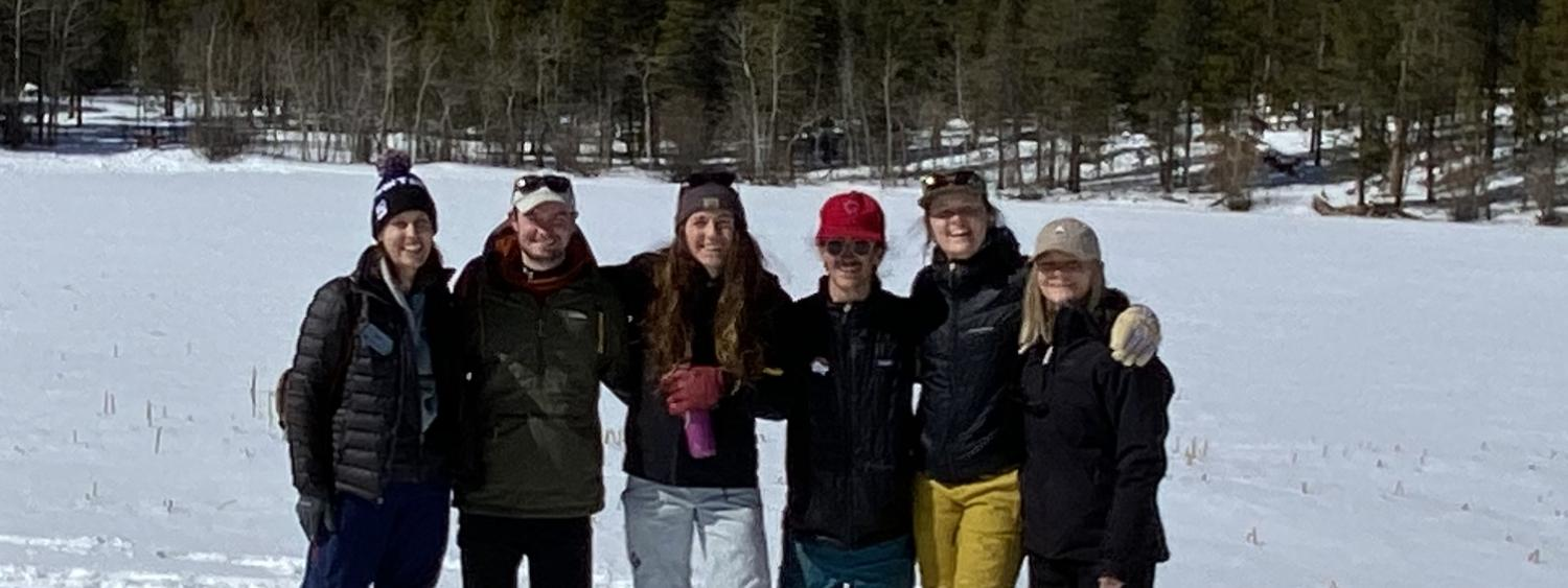 Interns at Mountain Research Station at Niwot Ridge, 2020