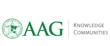 AAG Knowledge Communities