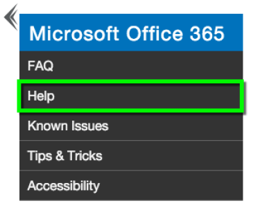 MS Office help graphic