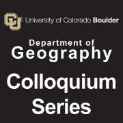 Geography Colloquium Series