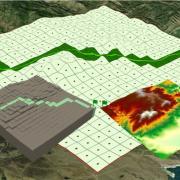 GIS 3d map
