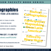 Poster for Radical Cartographies: Participatory Mapmaking from Latin