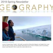 Spring 2019 newsletter cover shot