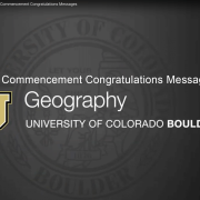 Commencement messages header