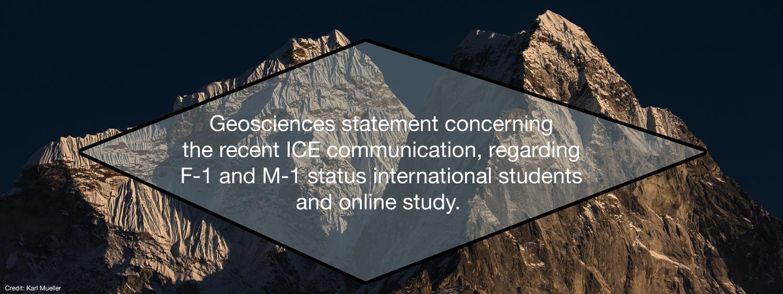 Geoscience Statement