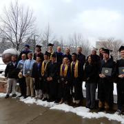 Winter graduates