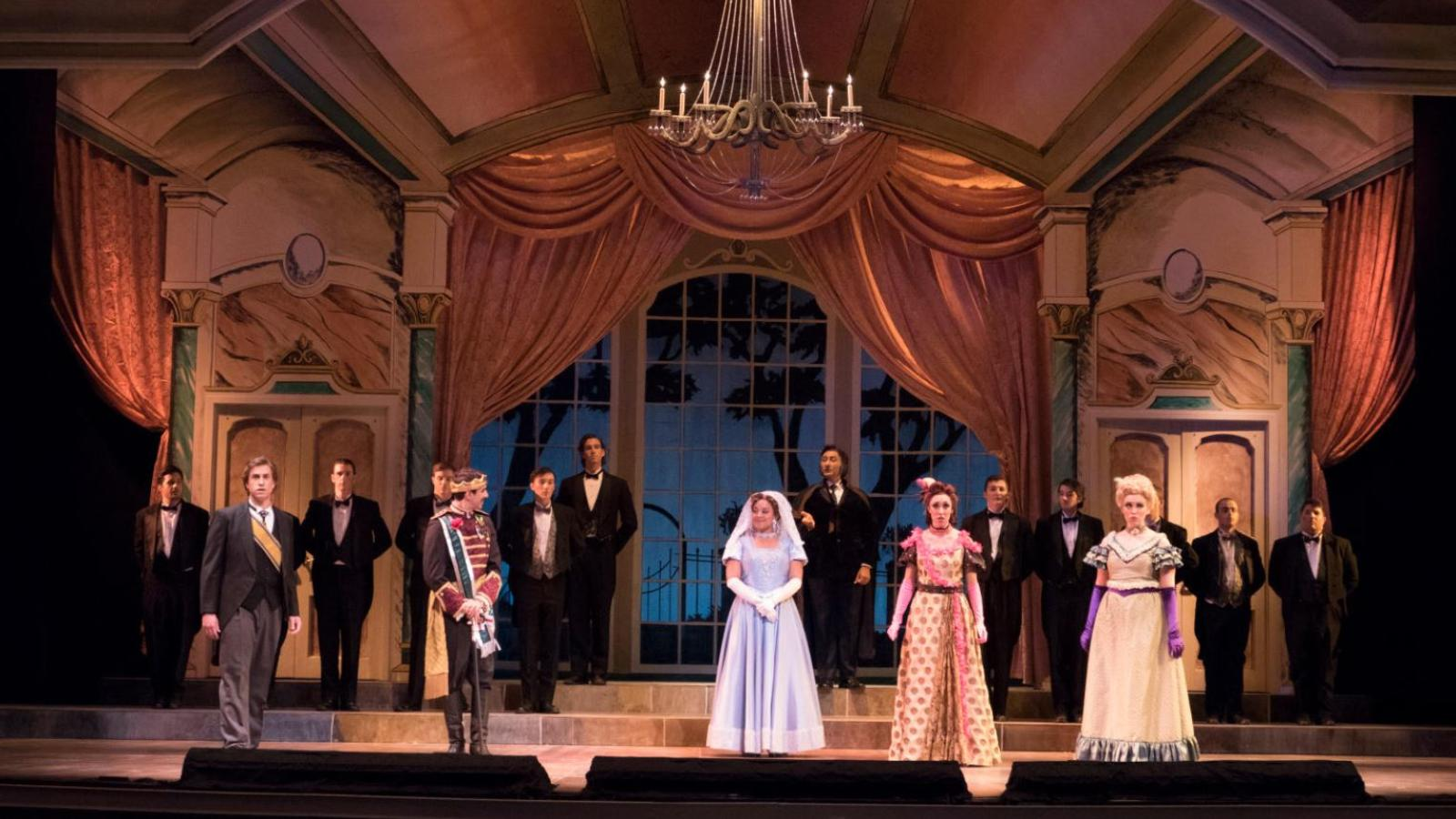 A performance of Cinderella