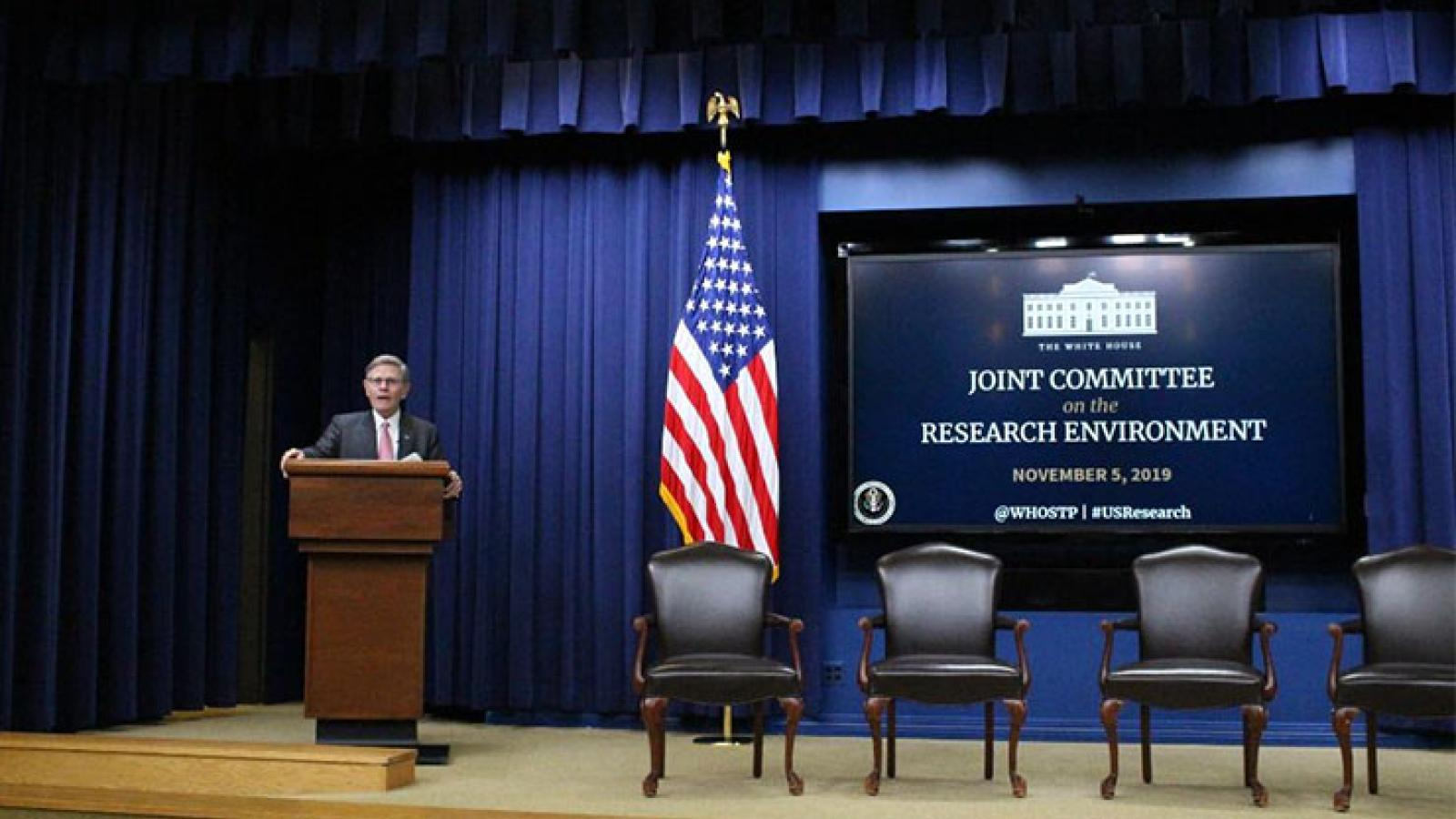 VC Terri Fiez participates in White House Summit of the Joint Committee on the Research Environment (JCORE)