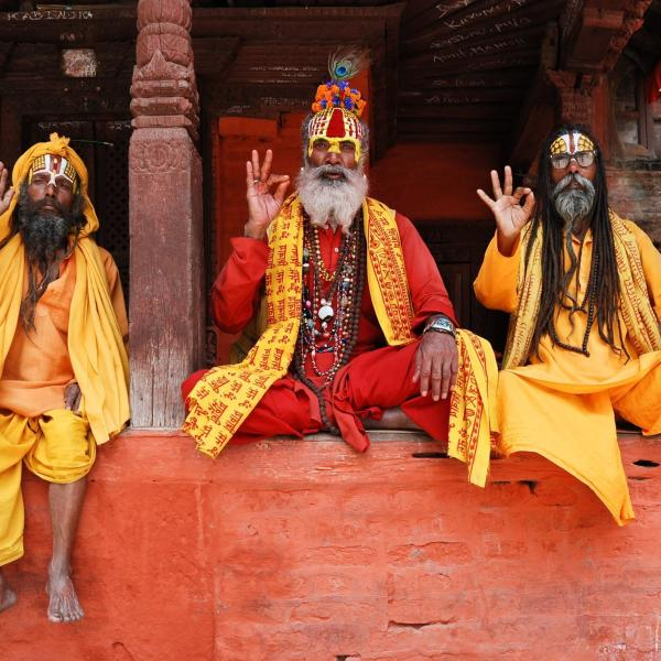photo of men from India