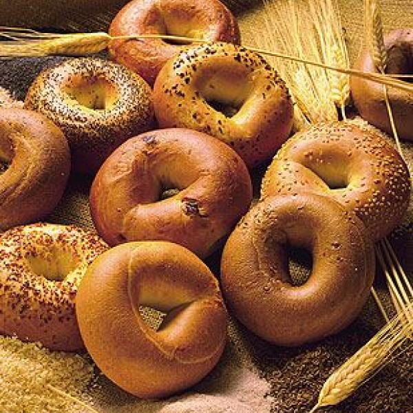 photo of bagels.