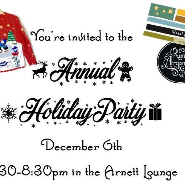 Holiday Party Poster Cropped