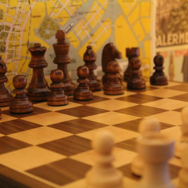 photo of chess board