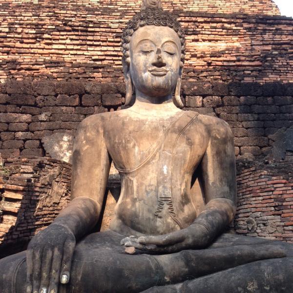 Anceint Buddhist Temple Ruins