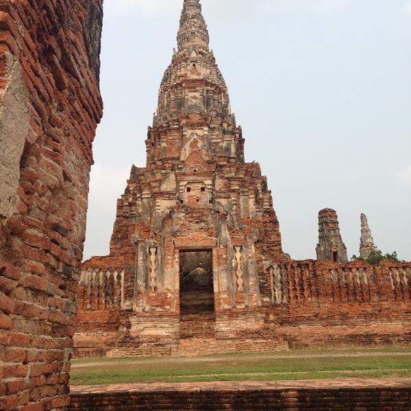 Ancient Buddhist ruins
