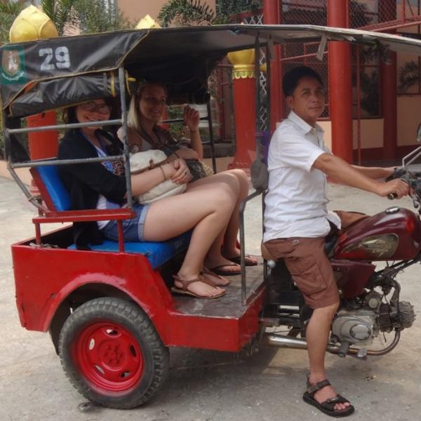 Taking the Tuk Tuk in Burma